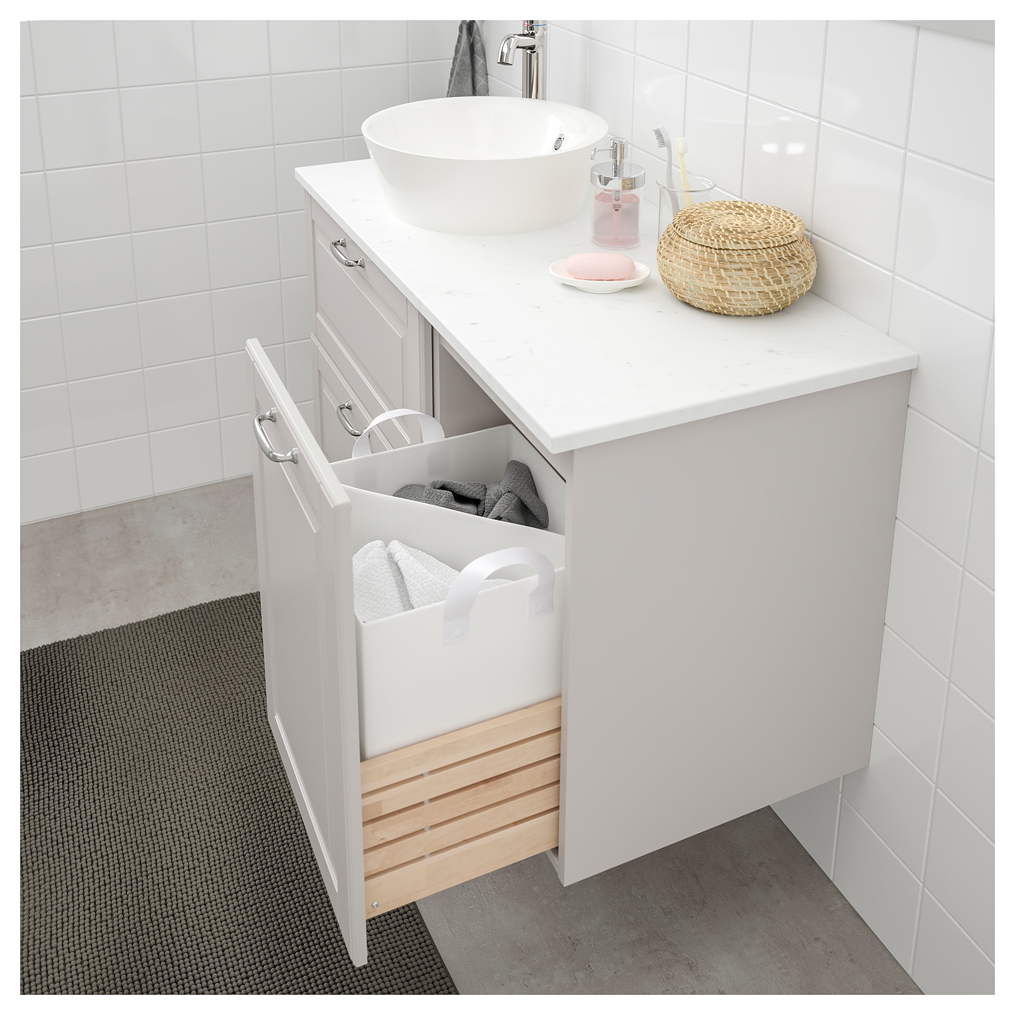 Godmorgon Wascheschrank Kasjon Hellgrau In 2020 Ikea Ikea