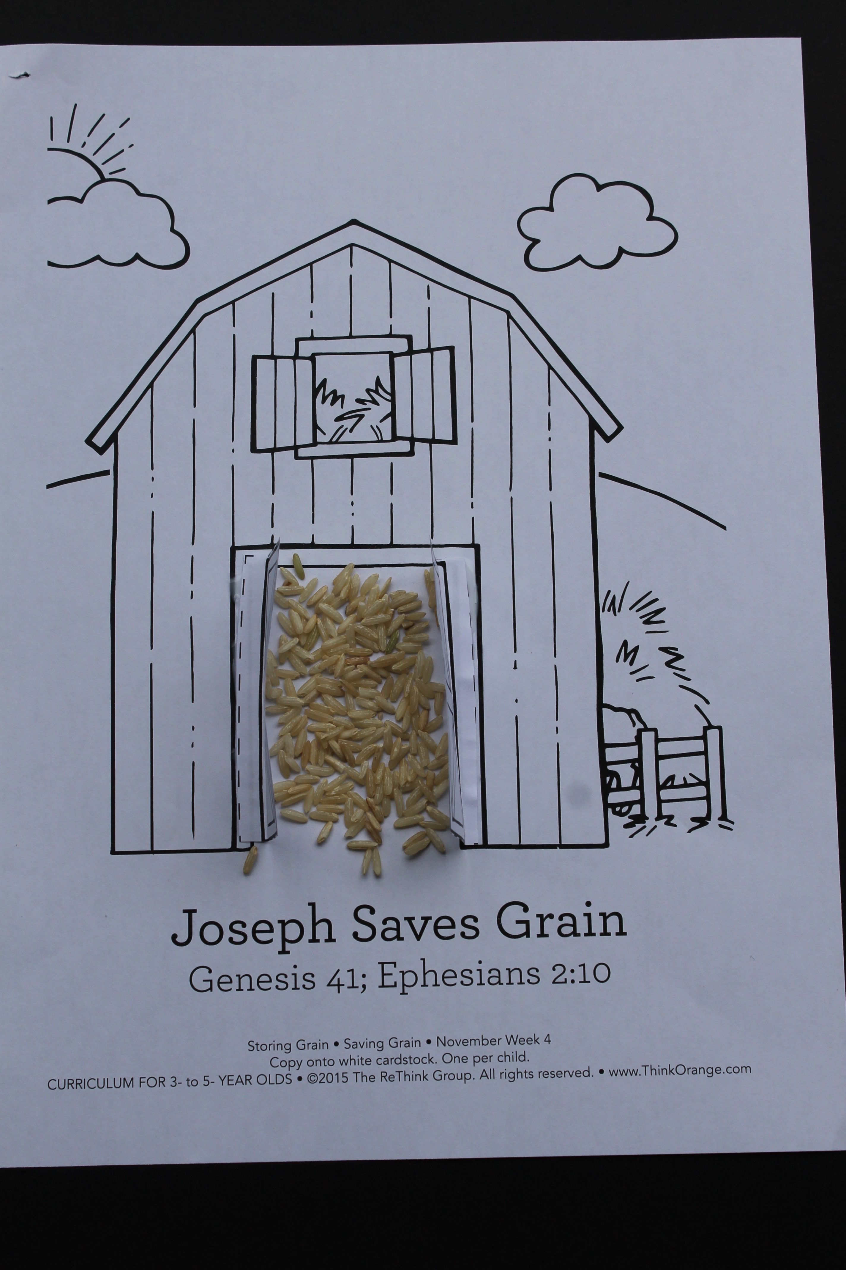 Sample Saving Grain