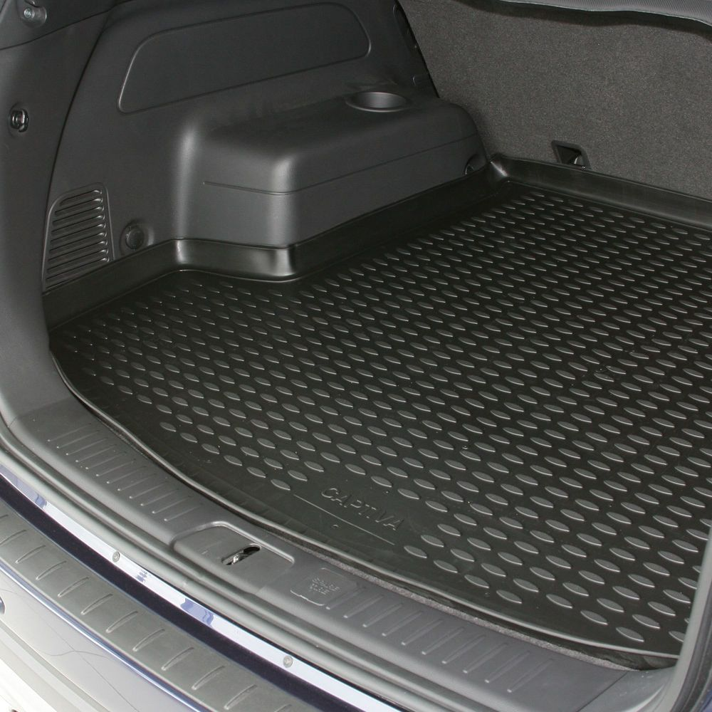 Rubber mats discovery 4 - Details About Ford Focus 04 11 Hatchback Boot Liner Rubber Tailored Floor Mat Protector Fitted