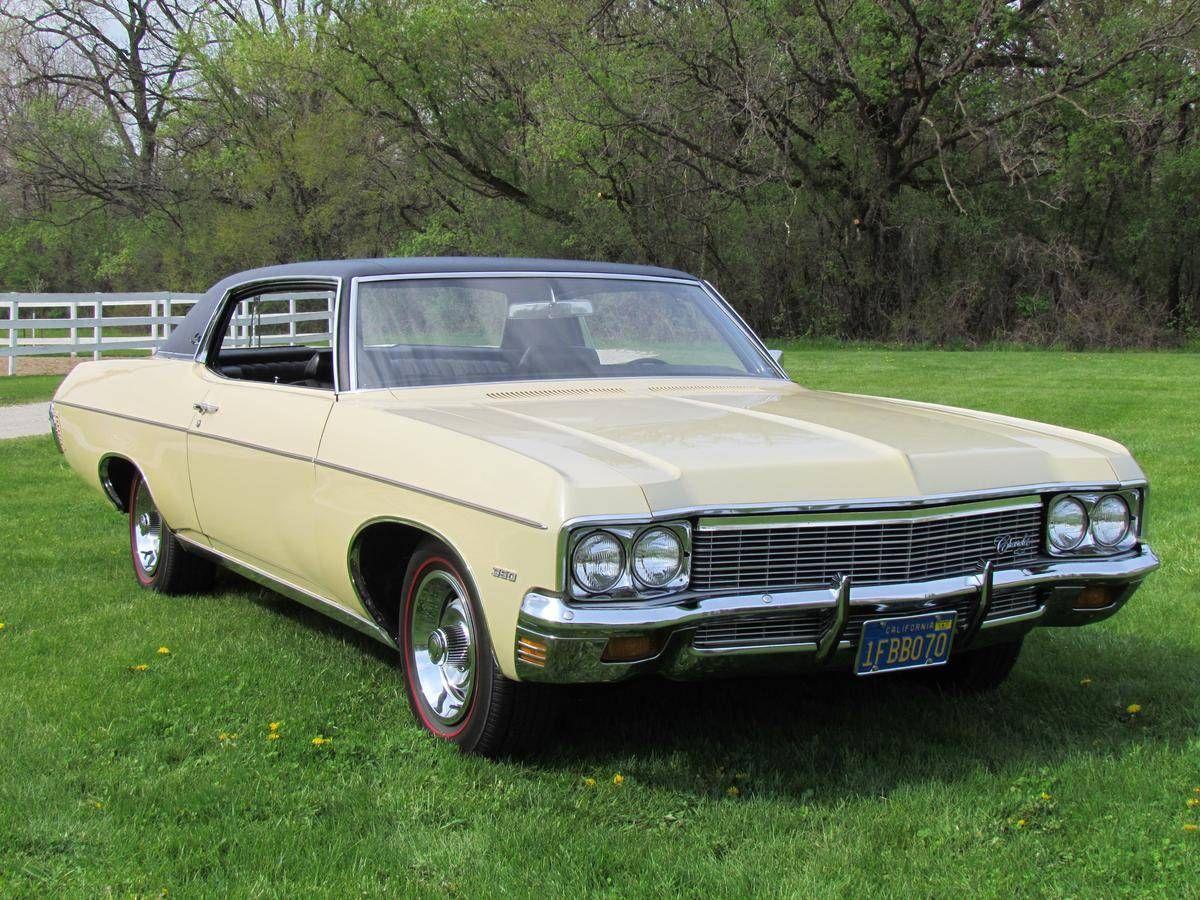 1970 Chevrolet Impala Custom Coupe Classic Cars Chevrolet