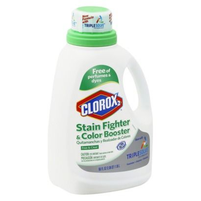 Clorox 2 For Colors Free Clear Stain Remover And Color