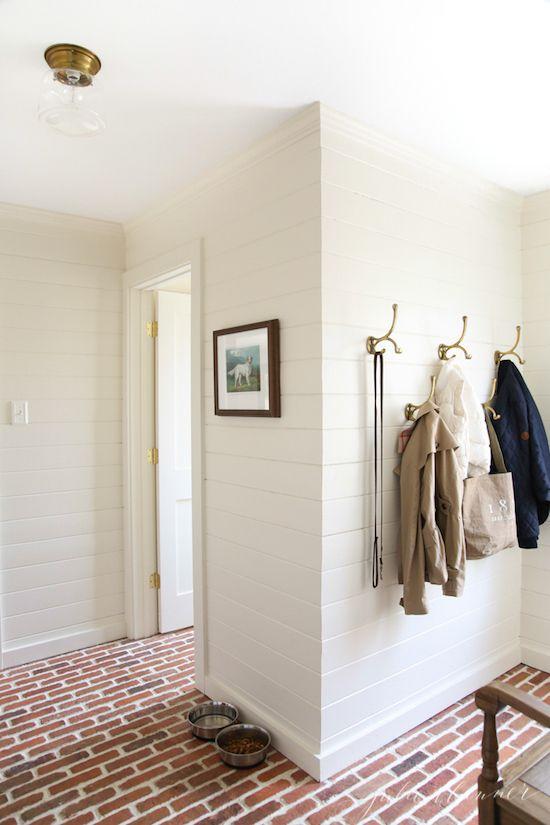 Entry + Foyer Decorating Ideas. Mud room designed by Julie Blanner ...