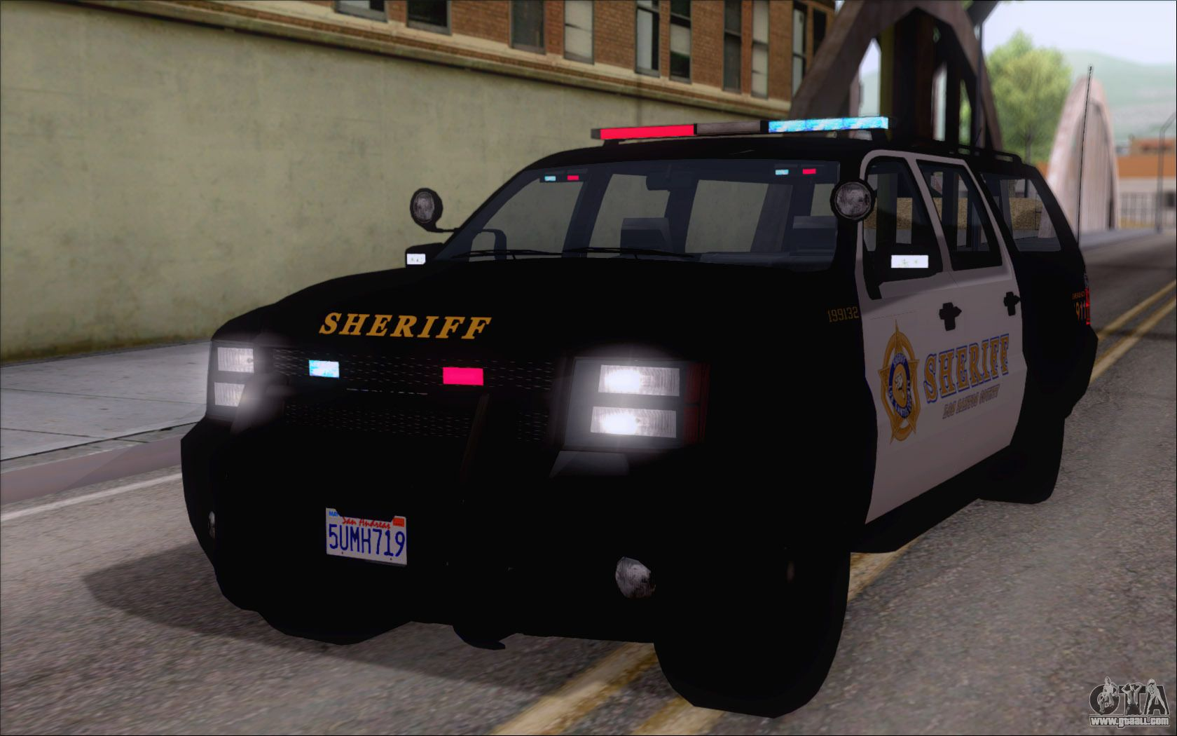 Cars For Replacement Police Ranger For Gta San Andreas With