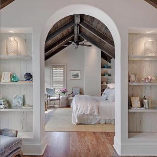 Paint Colors- Cypress Beach Master Bedroom #masterbedroompaintcolors
