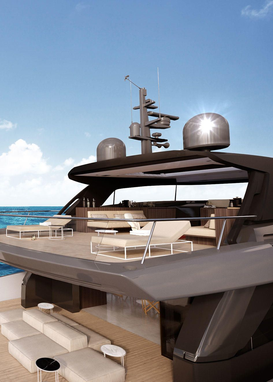 The First Details Of The Sanlorenzo Sx88 Crossover Yacht Were