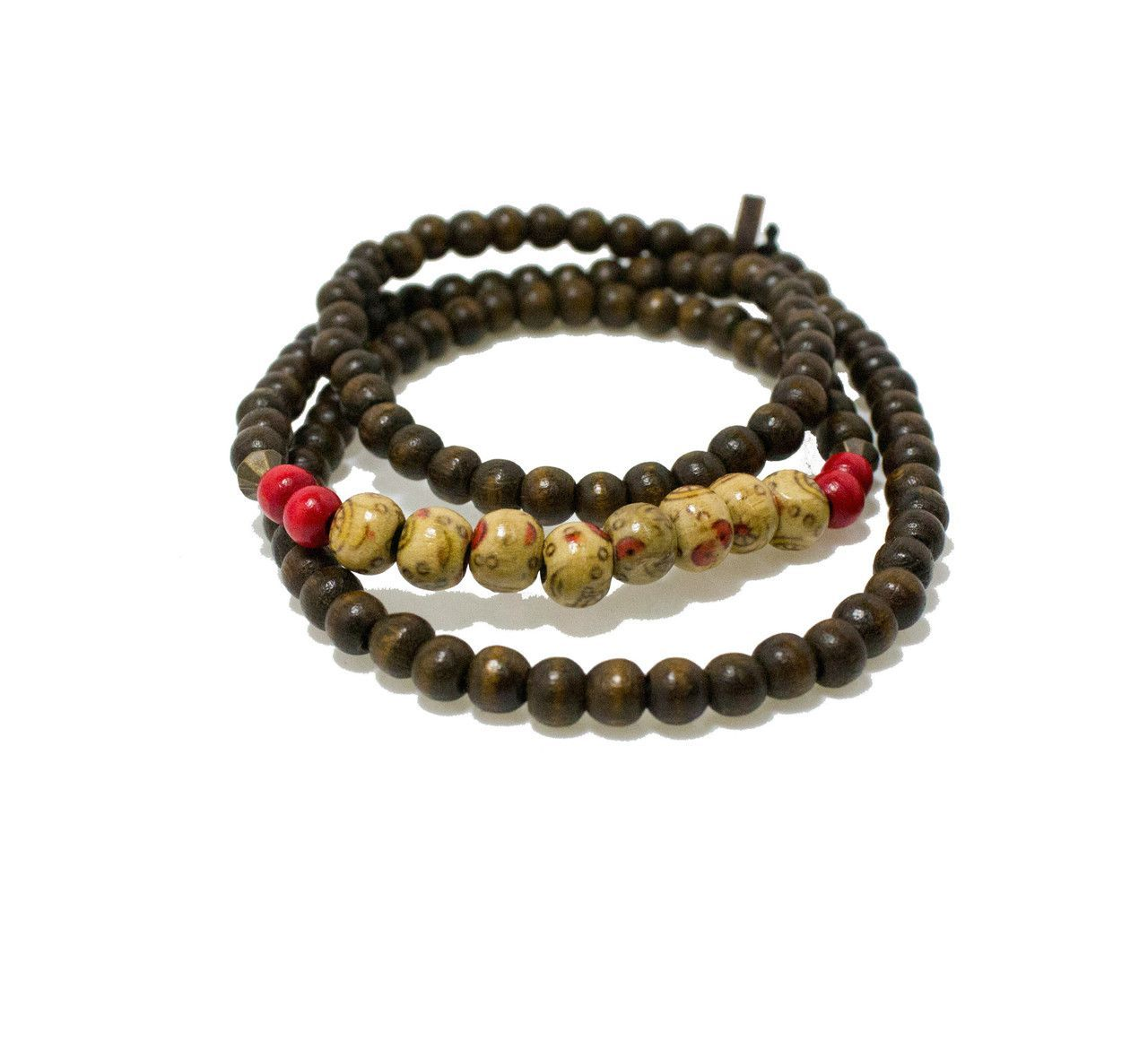 Wood Misae Wrap Bracelet From Goodwood Nyc