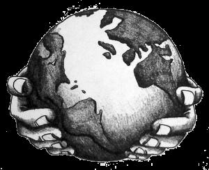 Pin By Ana Paula Paixao On Drawing Earth Tattoo Drawings Globe Tattoos