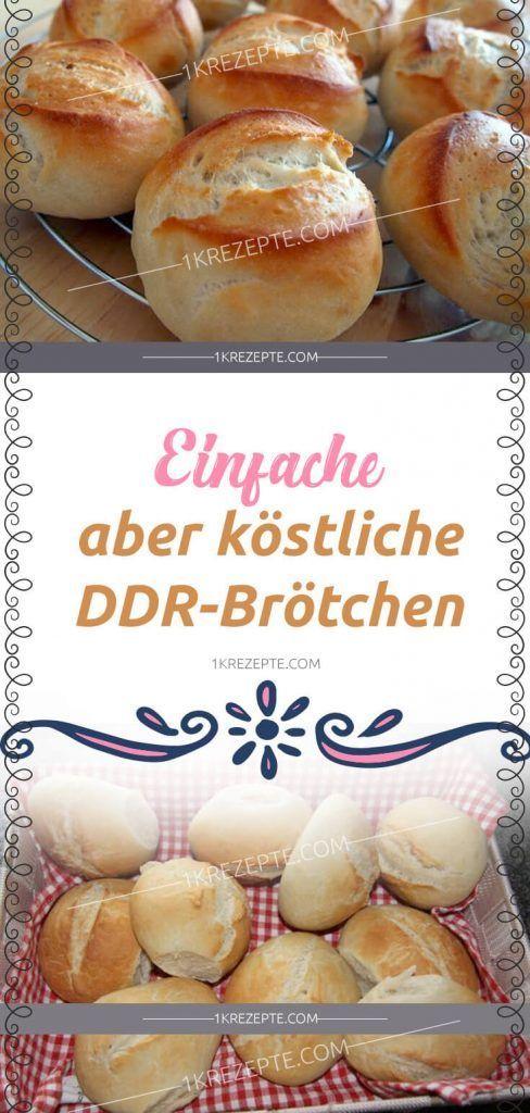 Einfache, aber köstliche DDR-Brötchen #apfelrosenrezept