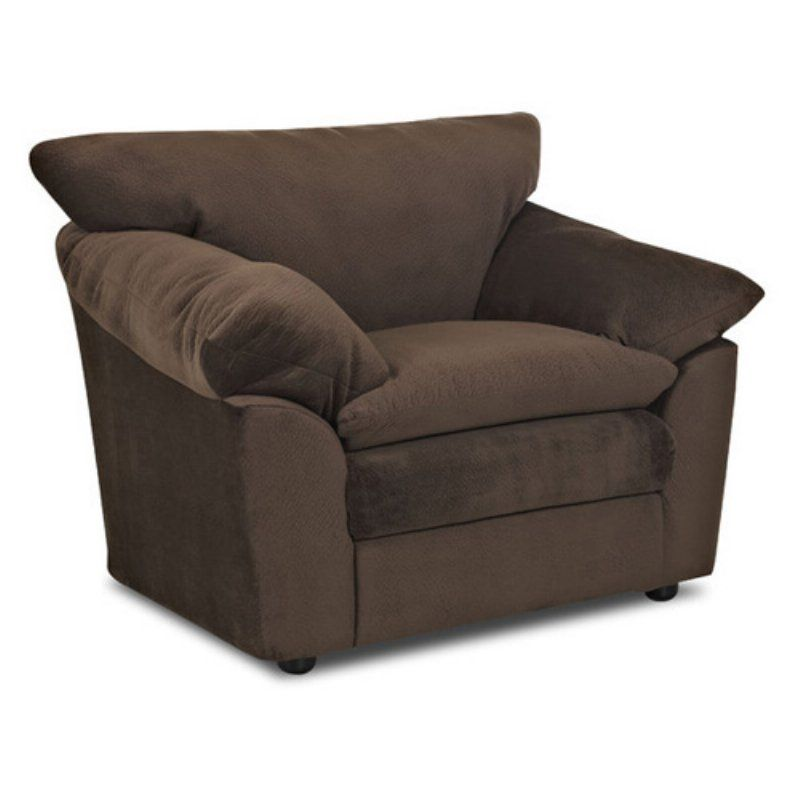 Klaussner Heights Chair - Challenger Chocolate - 012013151822