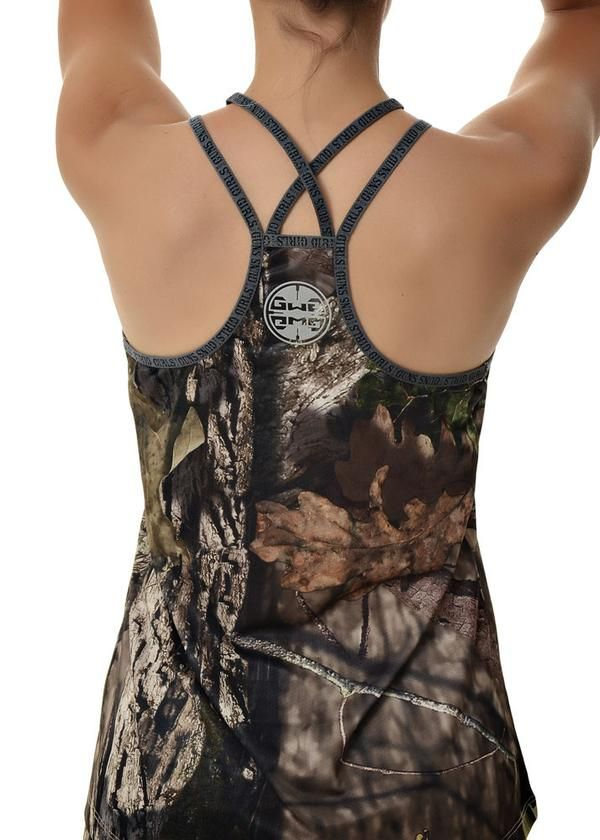 6e01d145c1f9b Women s Lightweight Mossy Oak® Country Camo Athletic Tank Top Racer Back by  Girls with Guns®