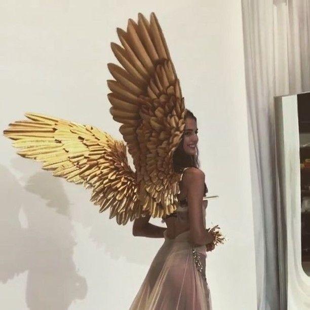 #aesthetic #wings | Fairy wings, Gold aesthetic, Angel