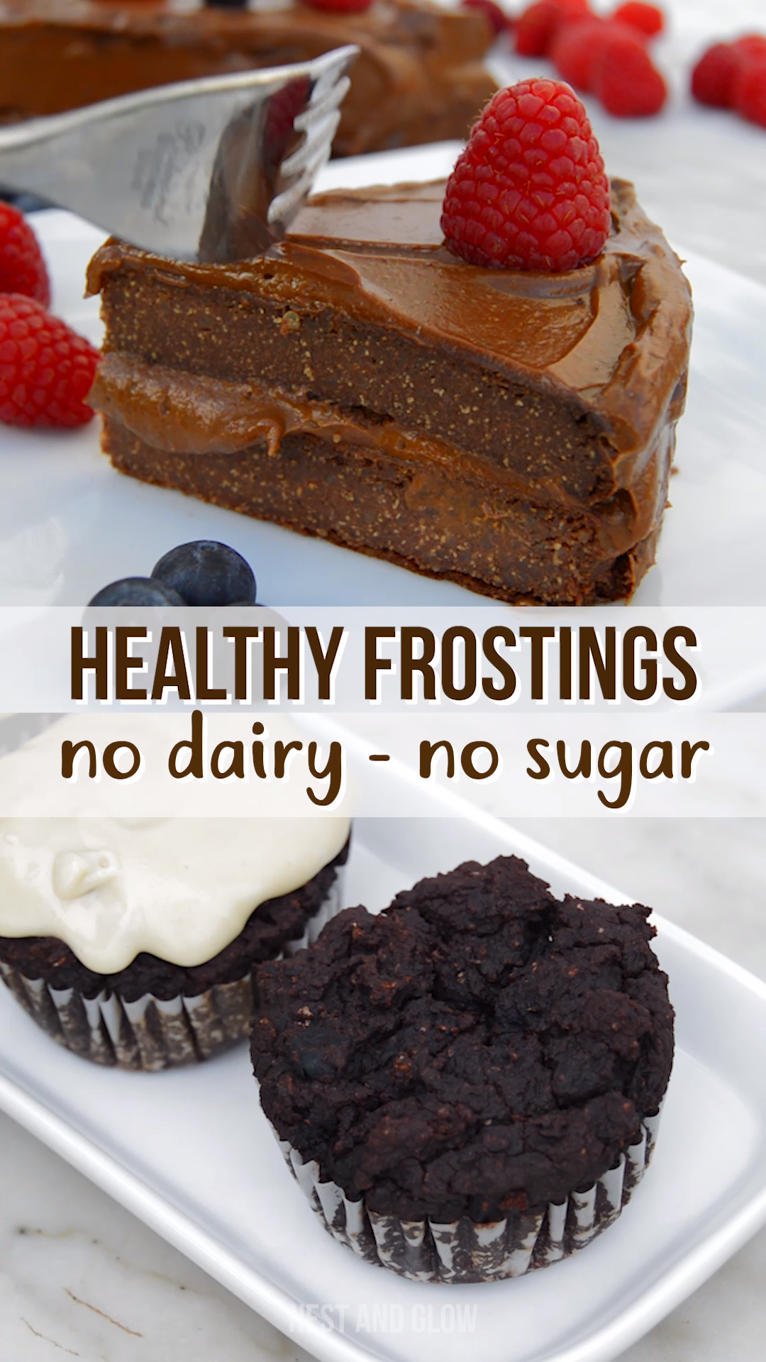 Healthy Frosting Recipes That EVERYONE loves  No Butter, No Suger is part of Healthy frosting - These healthy frostings are full of nutrition and whole food ingredients that are good for you  Eat healthy frosting either from the bowl or use it in a sweet recipe, no judgement here! Great frosting