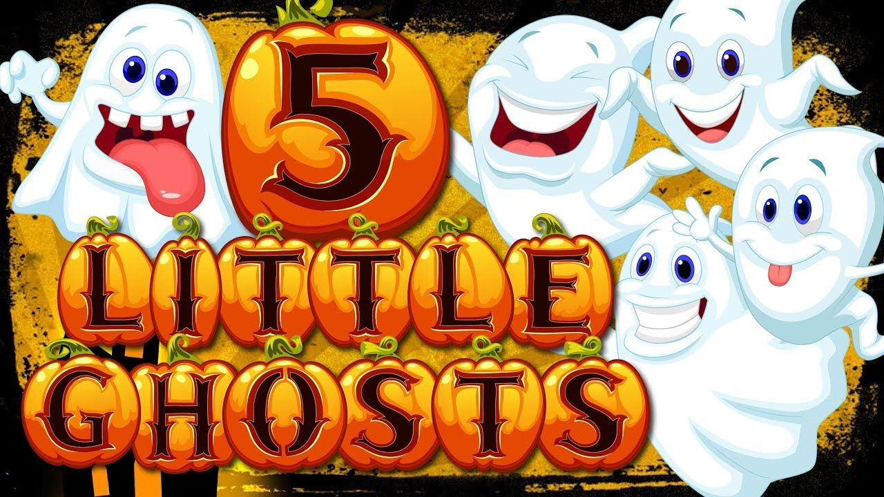 5 little ghosts | counting to 5 | fun halloween song for kids | jack