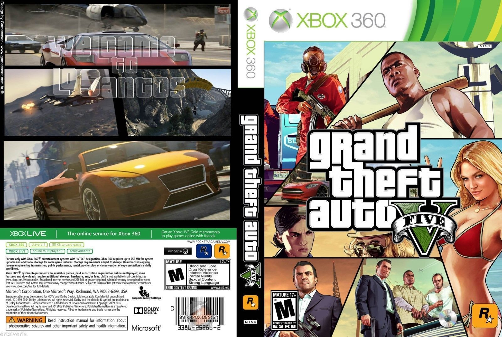 Gta 5 xbox 360 install disc download | How To Burn And Play