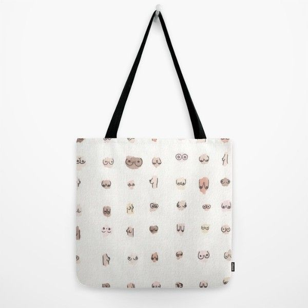 S Tote Bag Liked On Polyvore Featuring Bags Handbags White