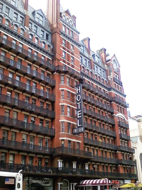 The Haunted Hotel Chelsea New York City I Have Been Here To Dine But Never Stayed Night Over When Was There It Gave Me Chills On My