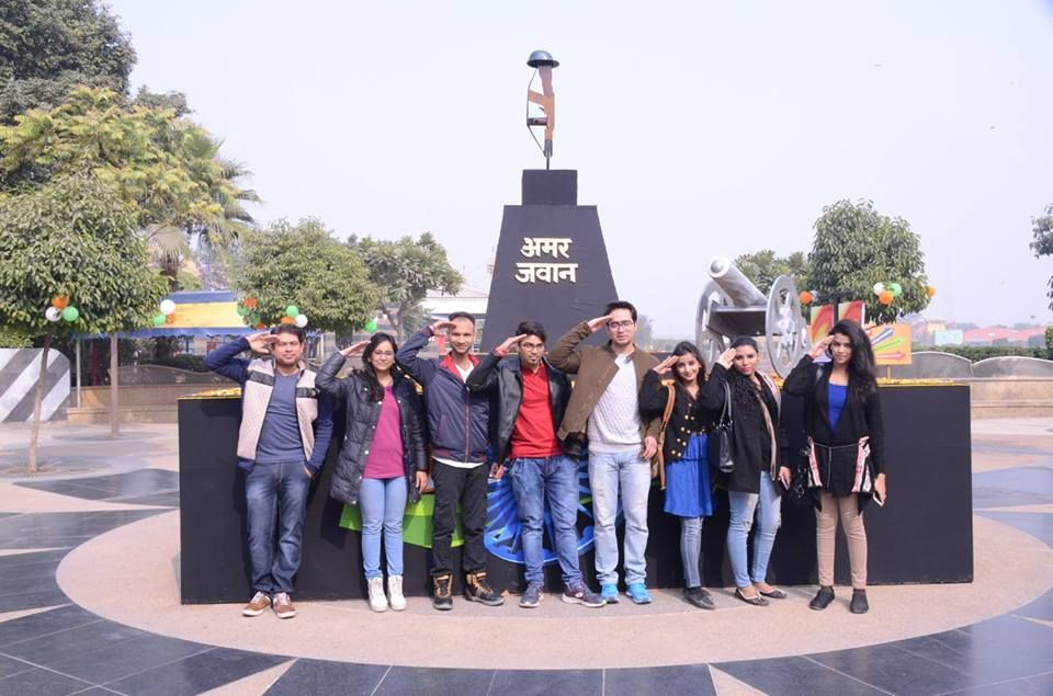 Celebrating Republic Day at Worlds of Wonder Amusement Park
