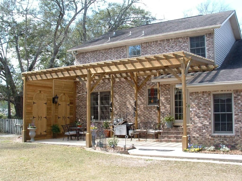Cost to build pergola - 17 Best Images About Patio On Pinterest Roofing Contractors Pavilion And Patio