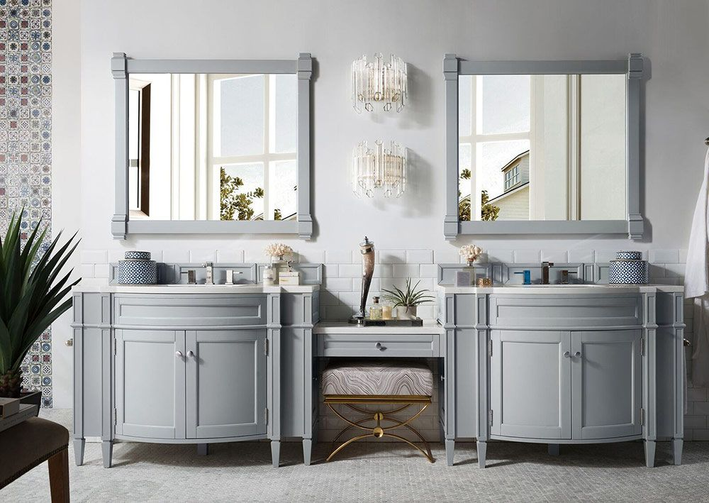 James Martin Brittany Collection 118 Master bathroom