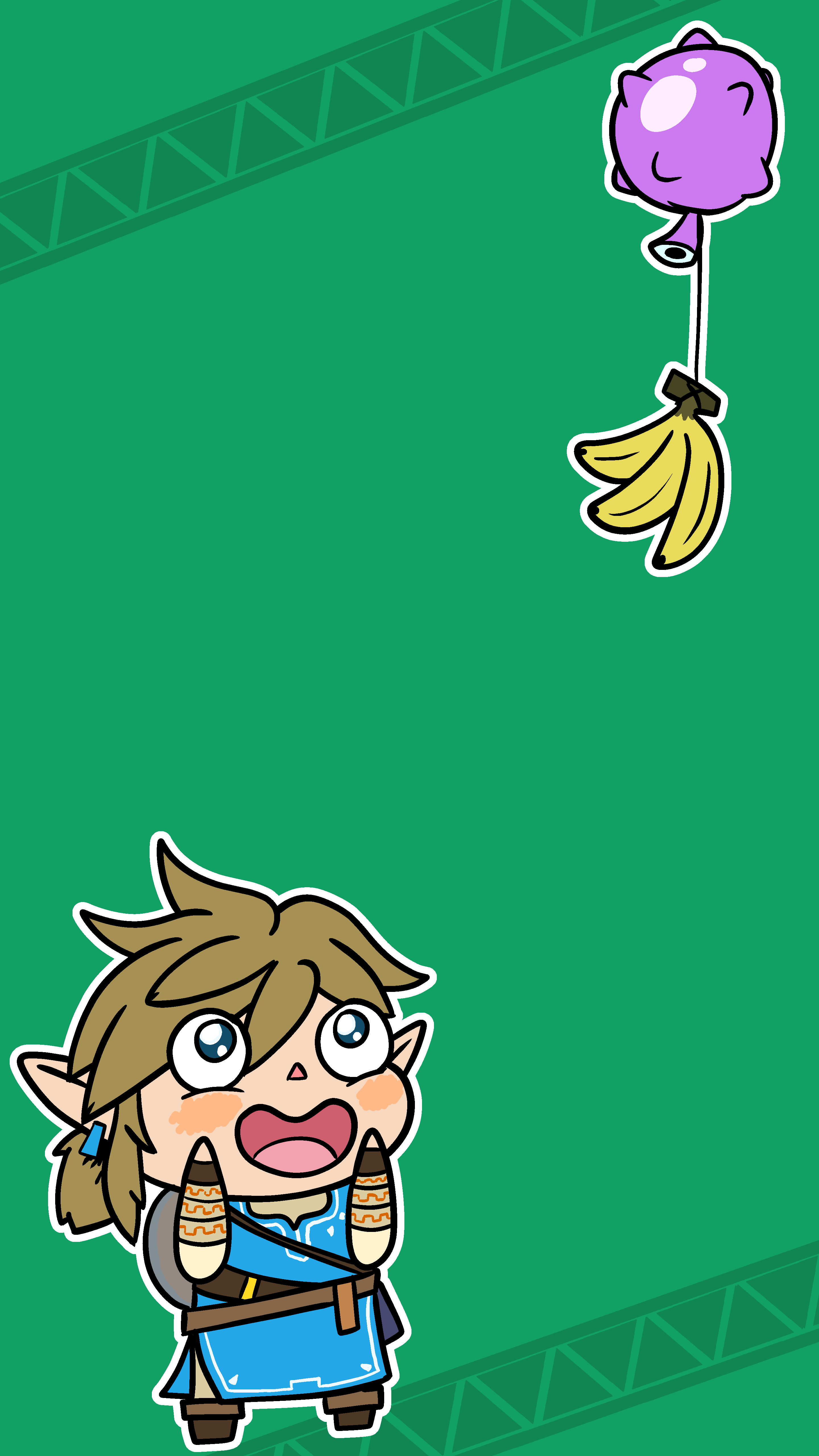 Chibi Breath of the Wild Android Wallpaper [1440x2560