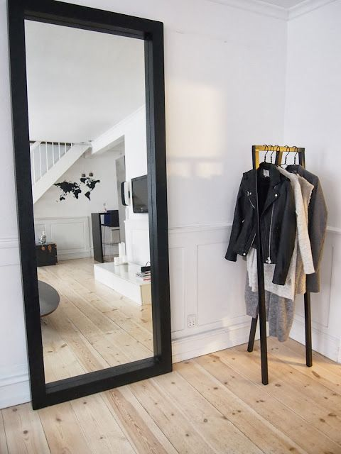 Style White Loop Stand Hall By Danish Hay Home Interior