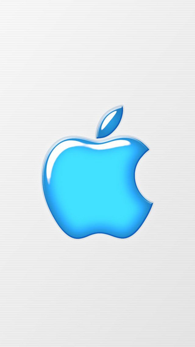 apple blue logo apple logo wallpapers collection for iphone
