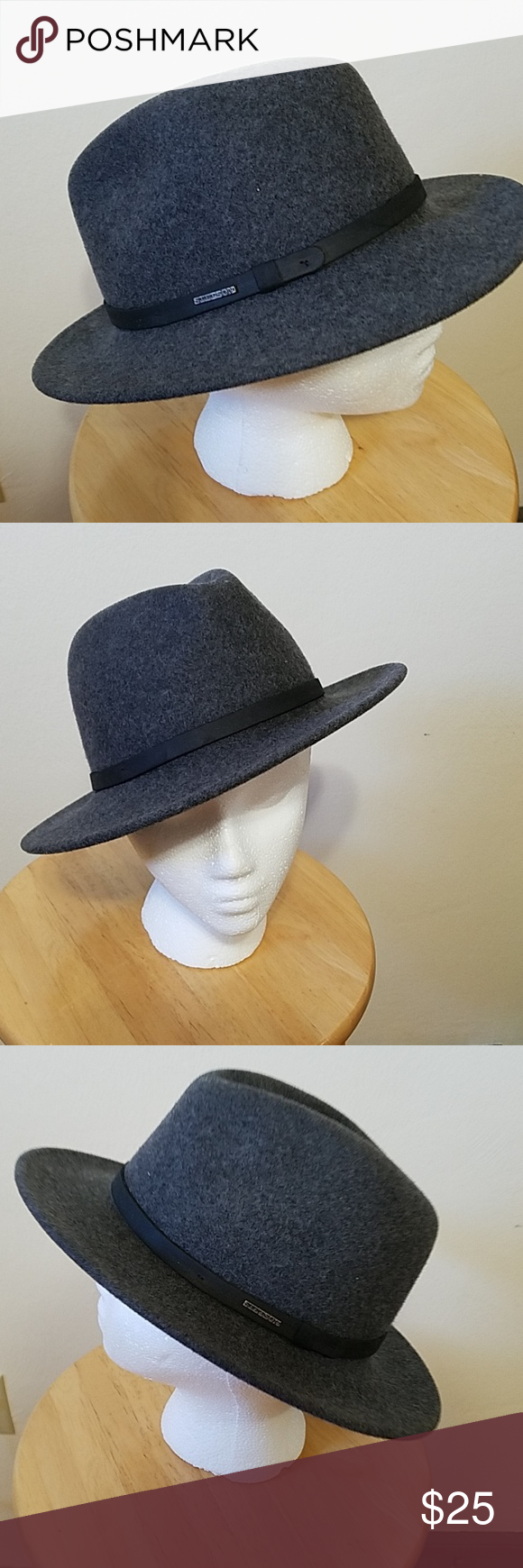 8a2e8d35082ec STETSON Crushable Explorer Great hat molds to your preferences. In  excellent condition. Size Large. Stetson Accessories Hats