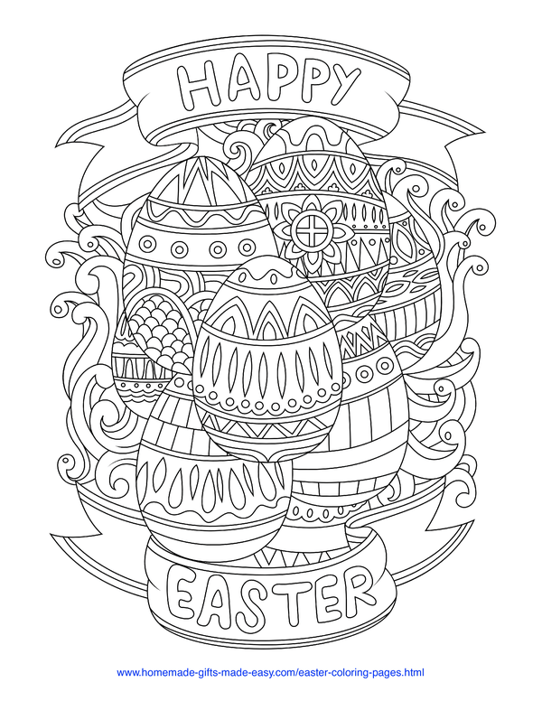 100 Easter Coloring Pages Free Printable Pdfs To Download Easter Coloring Book Easter Colouring Easter Coloring Pages