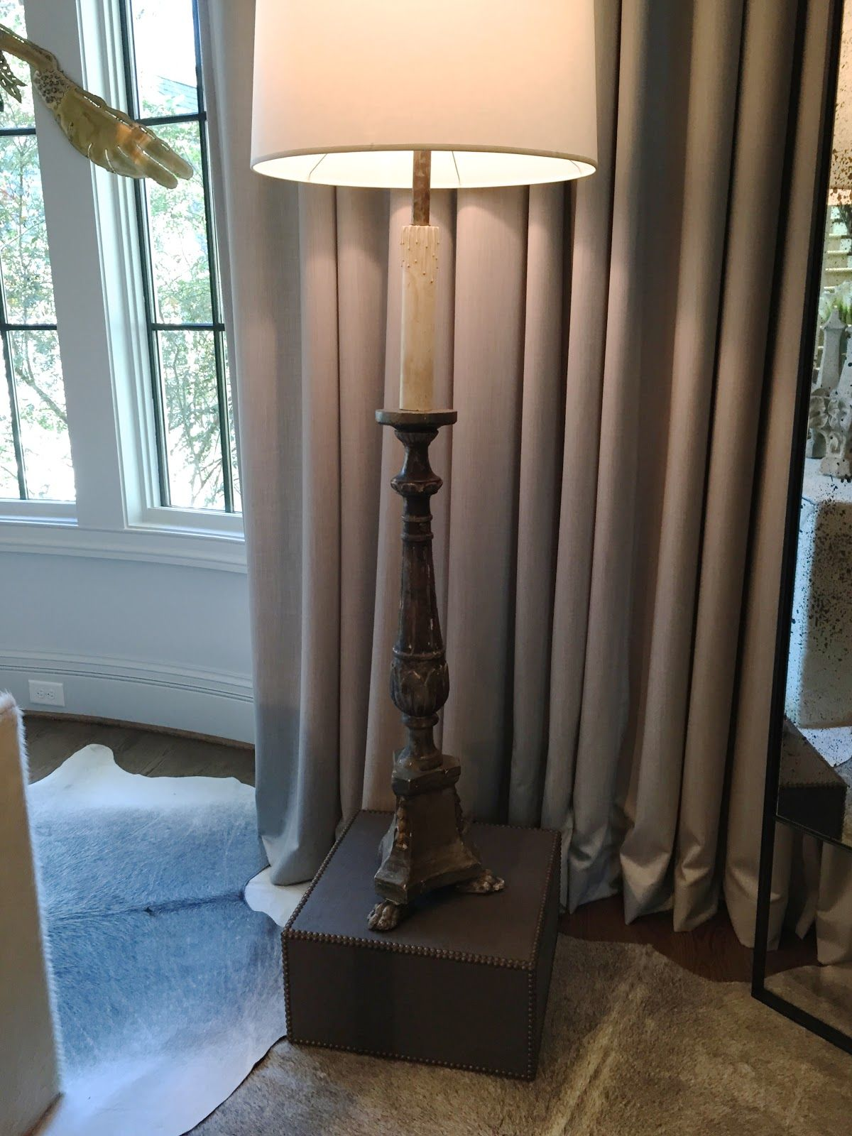Atlanta holiday home 2014 floor lamp and lights design indulgence atlanta holiday home 2014 beautiful box to elevate too short floor lamp aloadofball Image collections