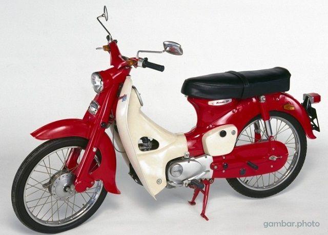 Koleksi Foto Motor Klasik Honda 70 / Gambar Honda Super