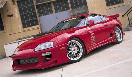 Customized 1994 Toyota Supra Twin Turbo