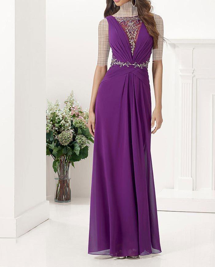 عکس لباس مجلسی, لباس مجلسی گیپور | seher | Pinterest | Long prom ...
