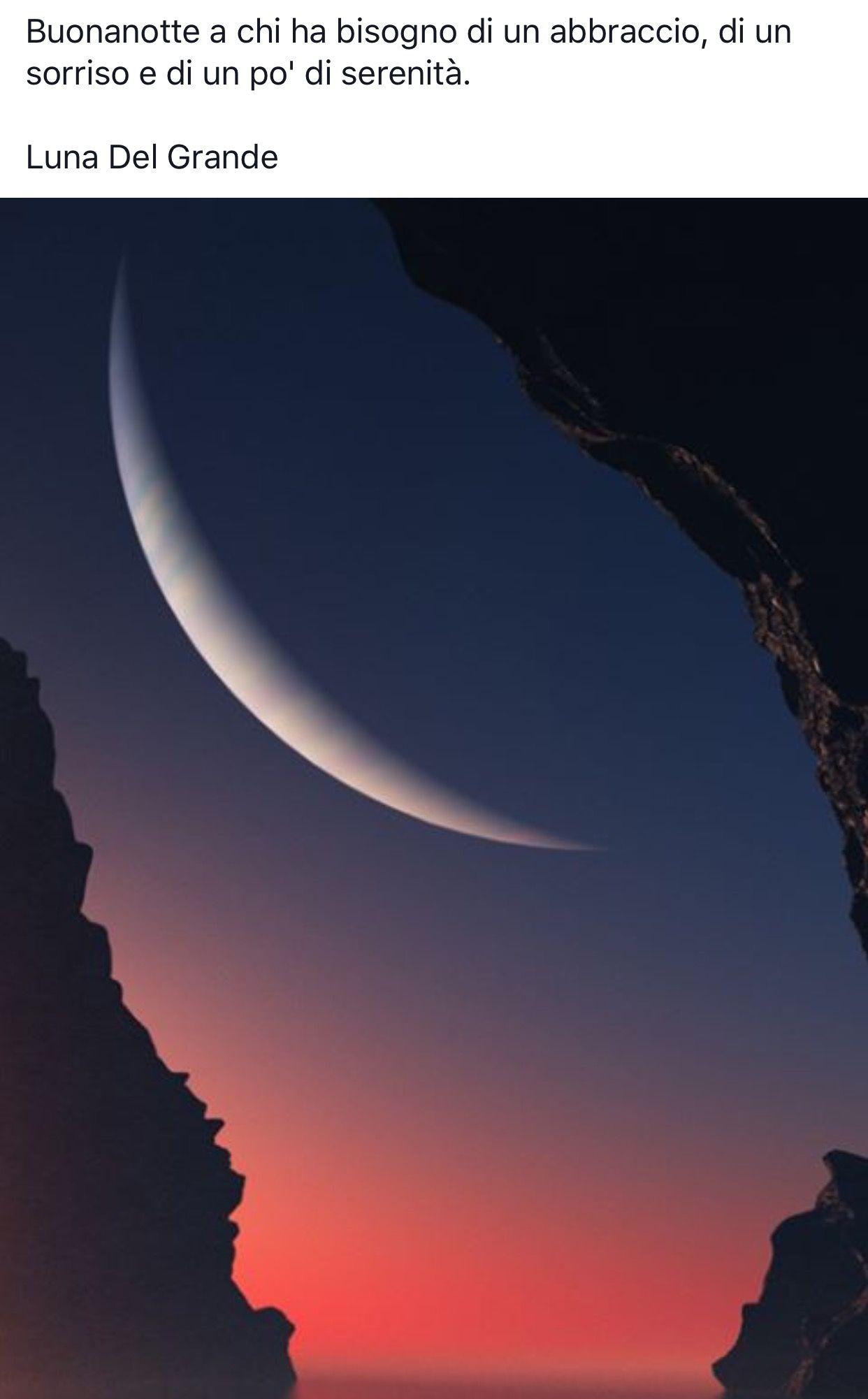 Luna Del Grande Buon Giorno E Buona Notte Mond Mond Bilder E