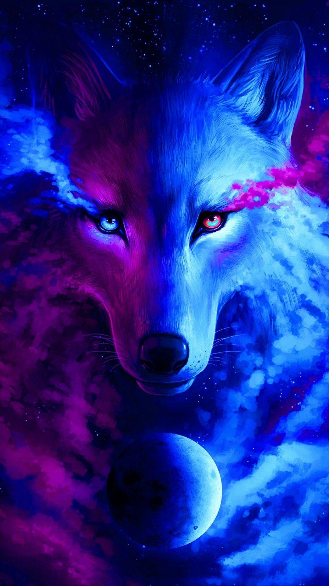 Animal Wolf Phone Wallpaper