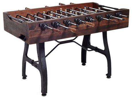 Vintage Style Foosball Table | For the Home | Tischkicker, Kicker, Tisch