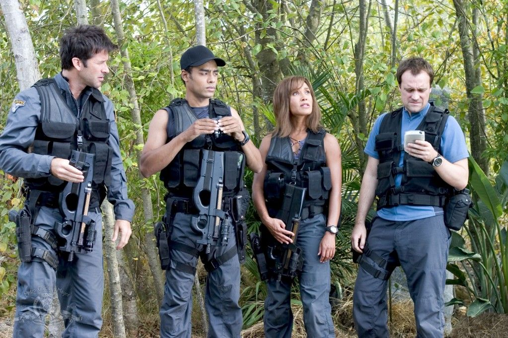 Amazing amazing team!!! Loved them All!! Just need Beckett and Ronon and it would be Perfection ;)) SGA S1E14 Sanctuary