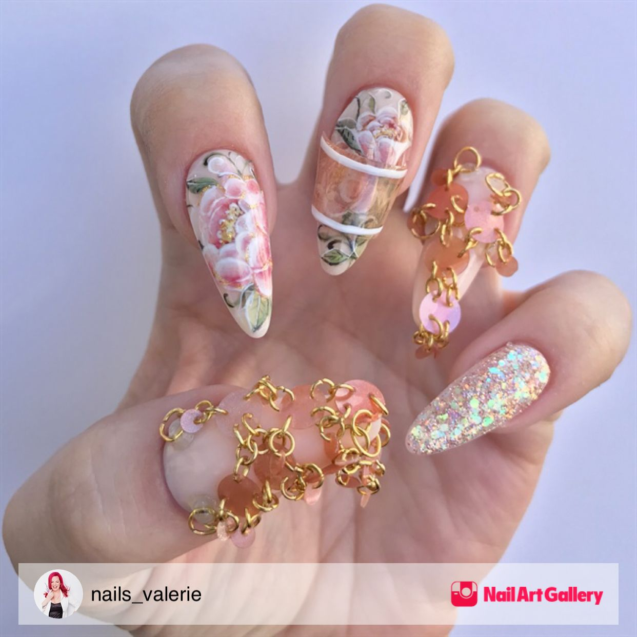 Vintage Nail By Akzentz 2 Challenge Ntna by nails_valerie via ...