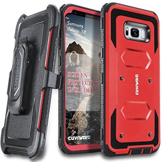 finest selection 2ccf3 1db7e Amazon.com: Samsung Galaxy S8 Case, [Aegis Series] + Full-Coverage ...
