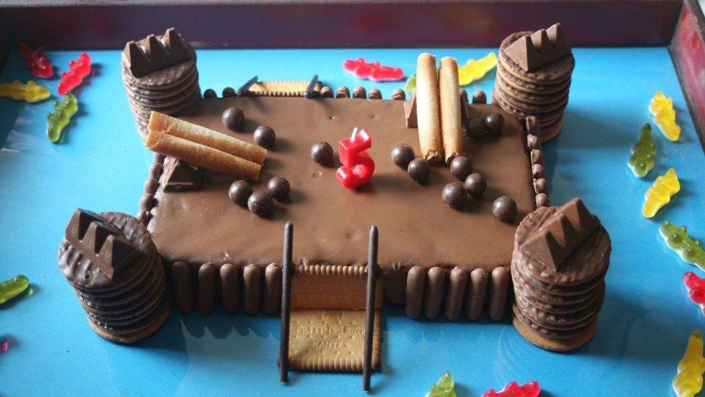 mon fils n'avait aucune hésitation sur le type de gâteau qu'il