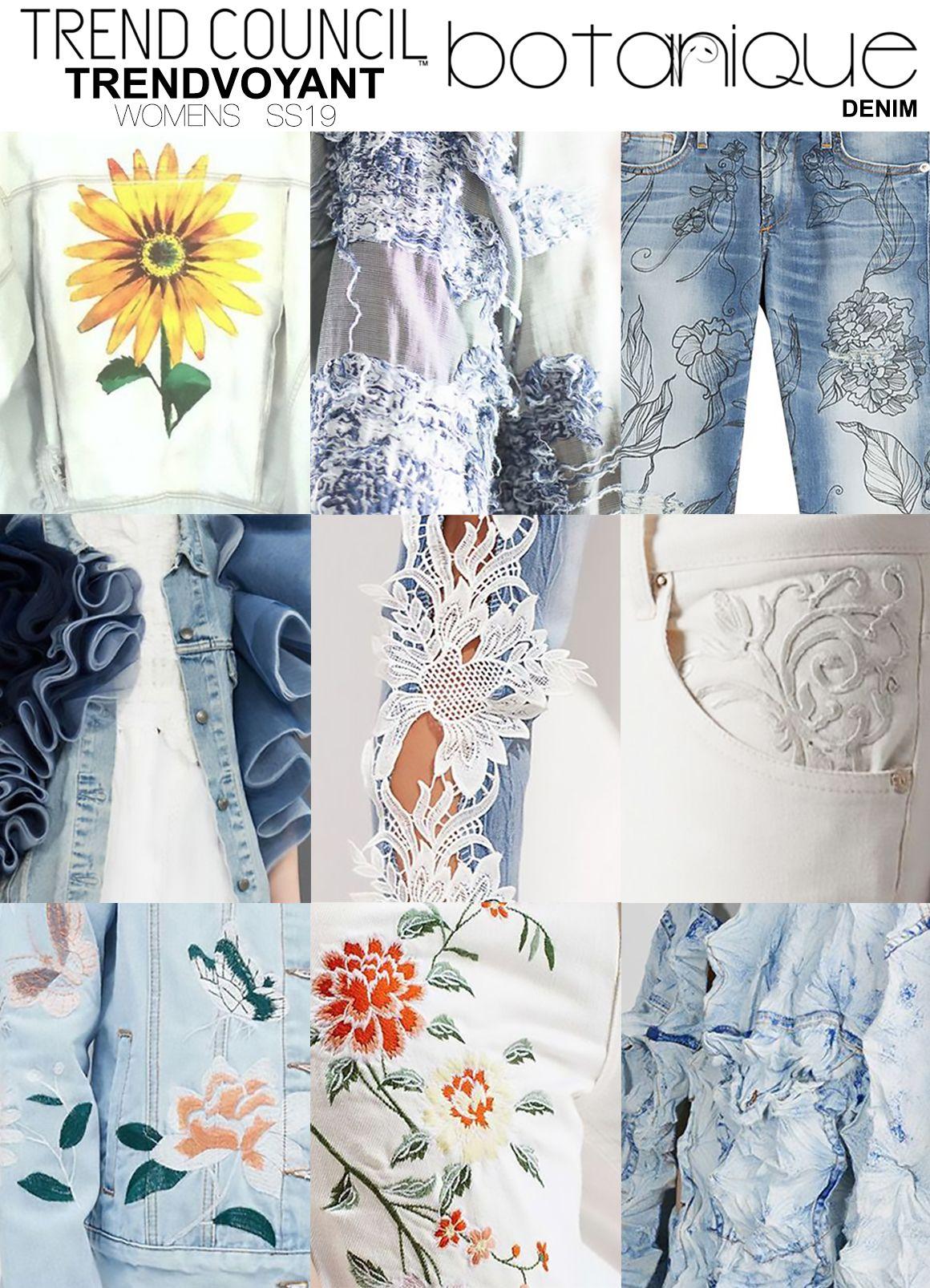 01 5 botanique denim | коллаж | Fashion trends, Fashion ...