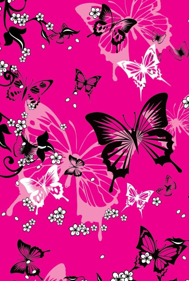 Mariposas Negras Blancas Y Rosadas Black White And Pink Butterflies Butterfly Background Butterfly Wallpaper Butterfly Pictures