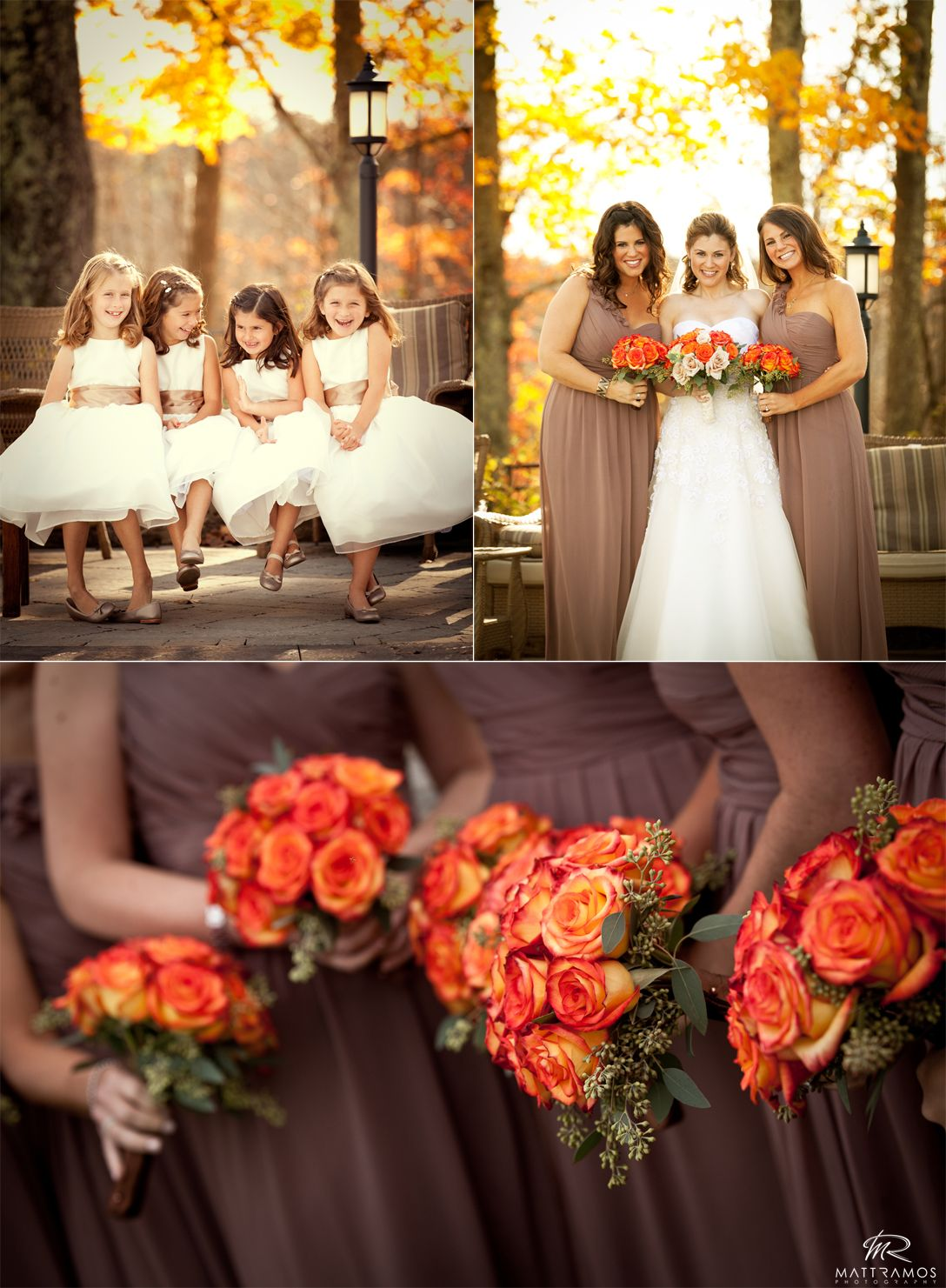 This color palette is incredible oranges yellows white browns this color palette is incredible oranges yellows white browns and that purpley autumn bridesmaid dressesbridesmaid ombrellifo Gallery