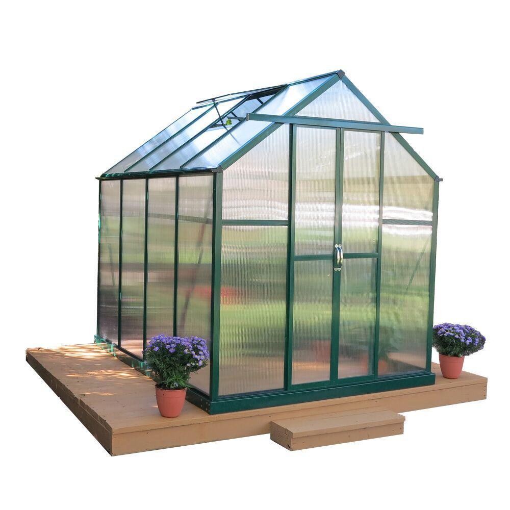 Grandio Greenhouses Element 6 Ft W X 8 Ft D X 7 Ft H Heavy Duty