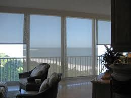 solar shades on sliding glass door right here in SA