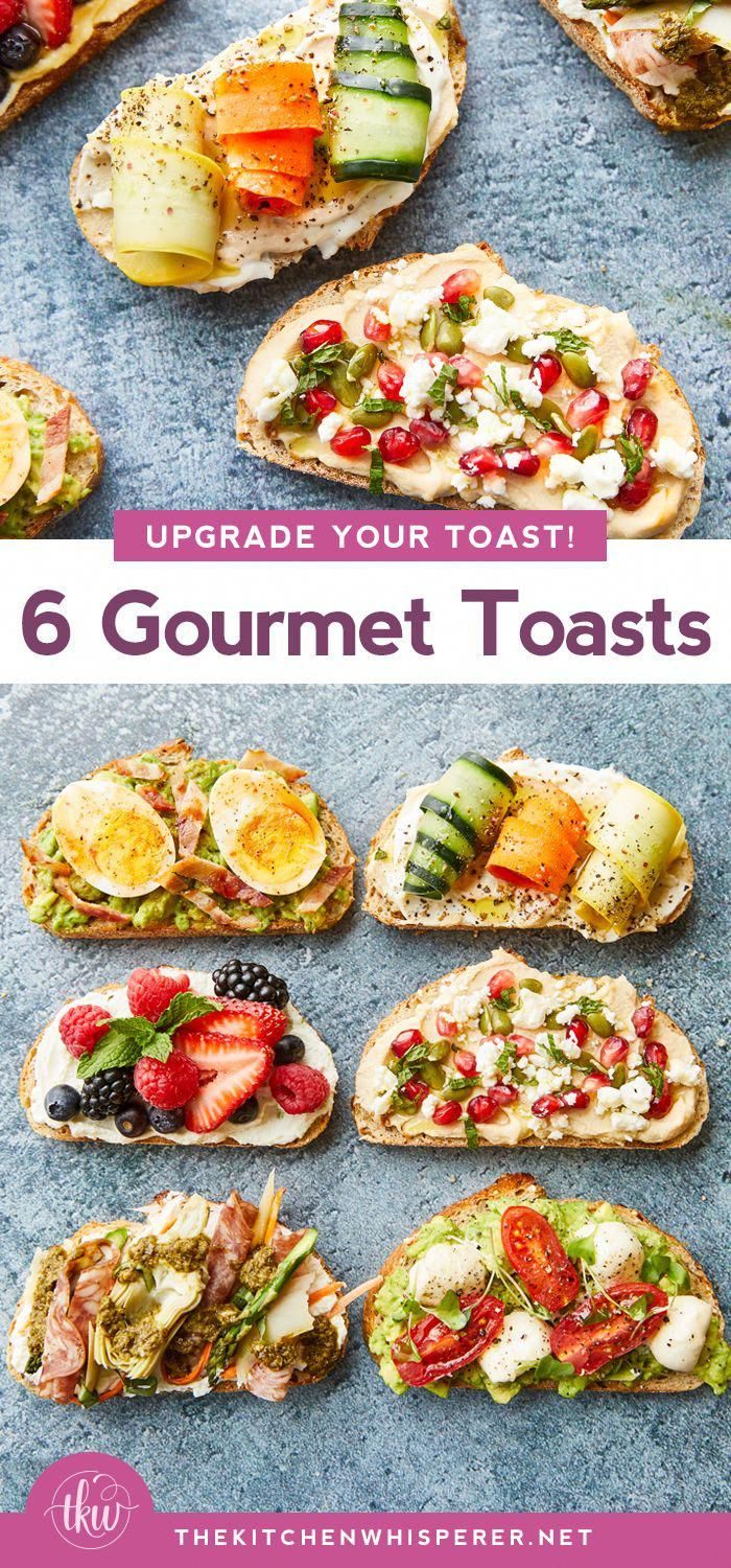 6 Gourmet recipes to upgrade your toast! 2 types of avocado toast that will tantalize your taste bu