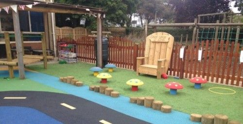 Outdoor Soft Play Flooring In Ansty