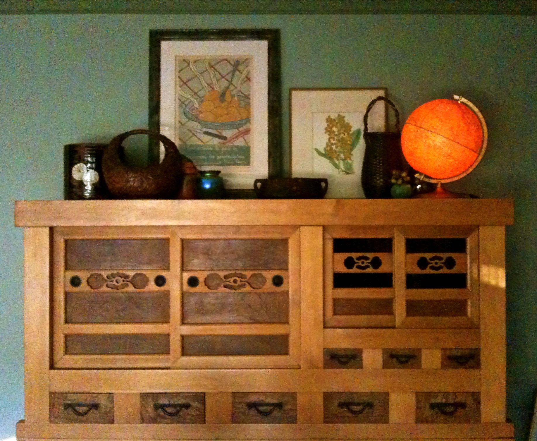 Antique Japanese Tansu. Berkeley, CA · Japanese FurnitureVignettesPersonal  ...