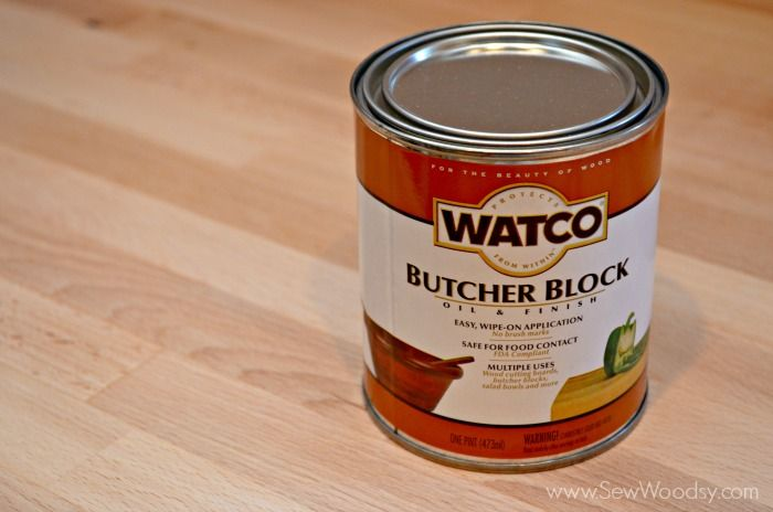 Best Finish For Butcher Block Countertop: Watco Butcher Block Oil