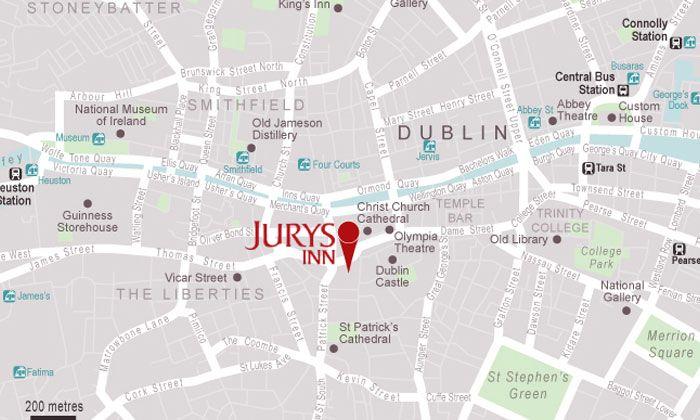 Christchurch Hotel City Centre Jurys Inn Dublin Hotels