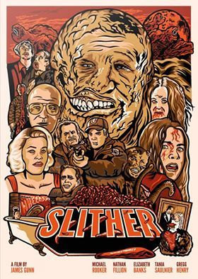 Slither 2006 Horror Pictures Horror Posters Film Posters Art